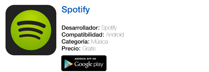 https://play.google.com/store/apps/details?hl=es&id=com.spotify.mobile.android.ui