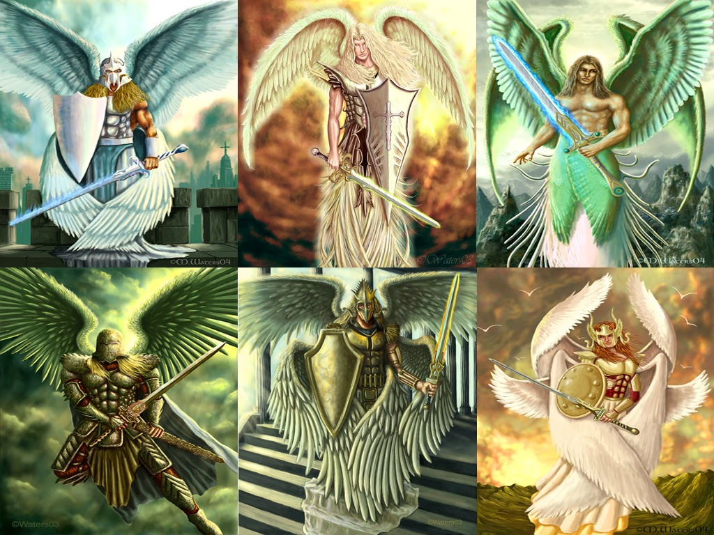 Names of the Archangels  angelsangelologycom