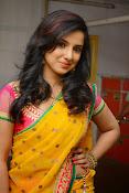 Leema glamorous photos in half saree-thumbnail-3