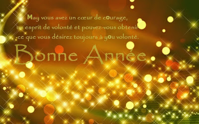 Happy New Year Greeting Messages In French 2016