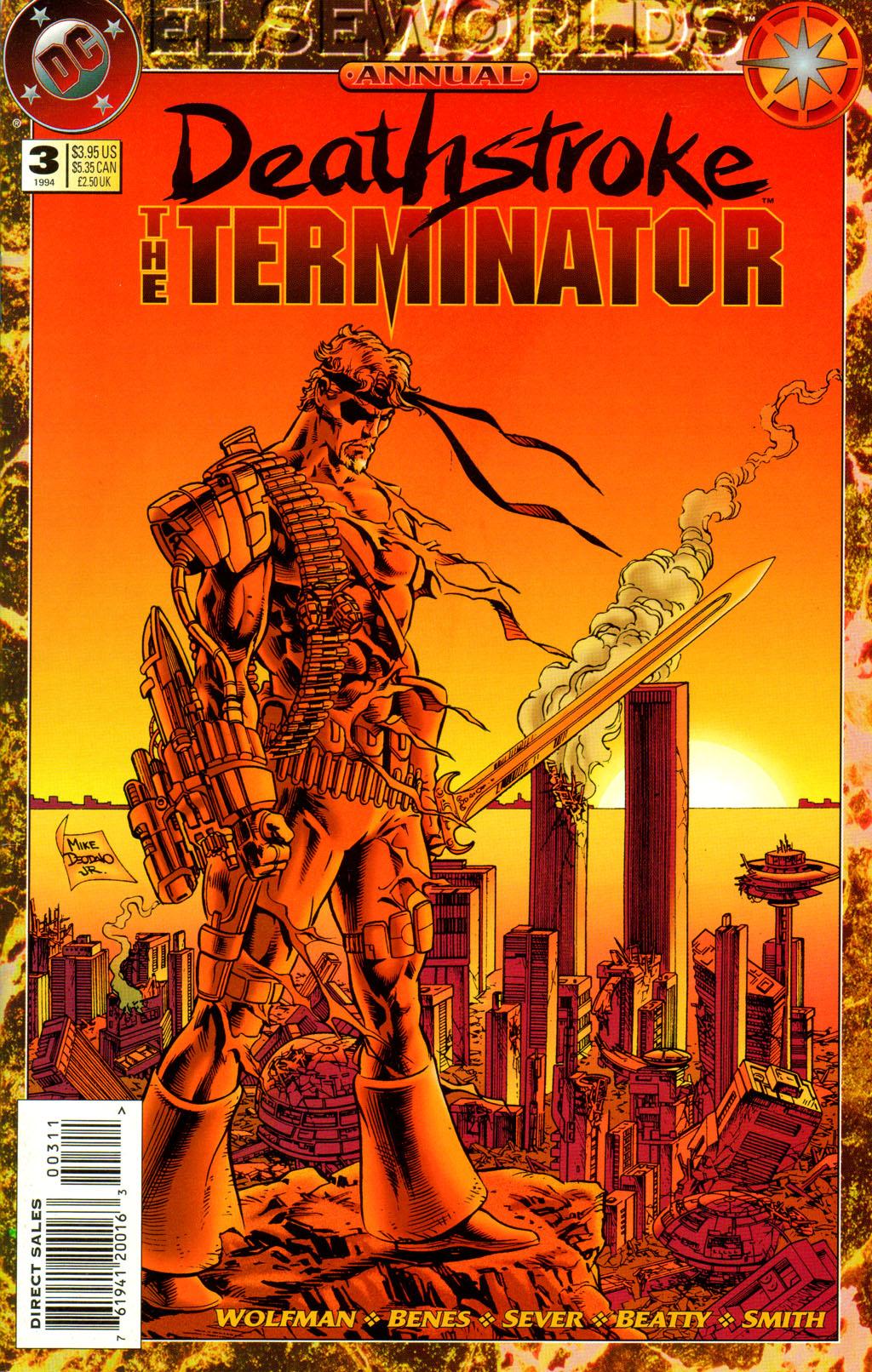Deathstroke (1991) Annual 3 #3 - English 1
