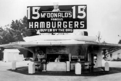 első McDonalds