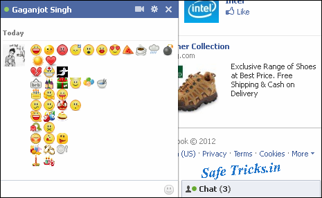 Emotional Pictures For Facebook Facebook Chat Emotions Code