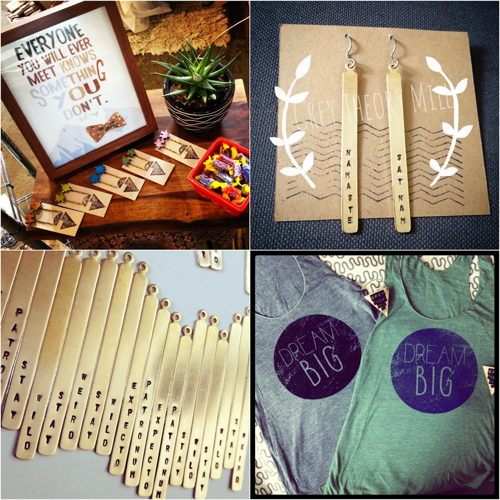 Grey Theory Mill feature & GIVEAWAY! at Shop Small Saturday Showcase on Diane's Vintage Zest!