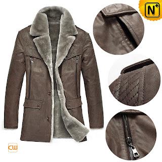 Sheepskin Shearling Fur Coat