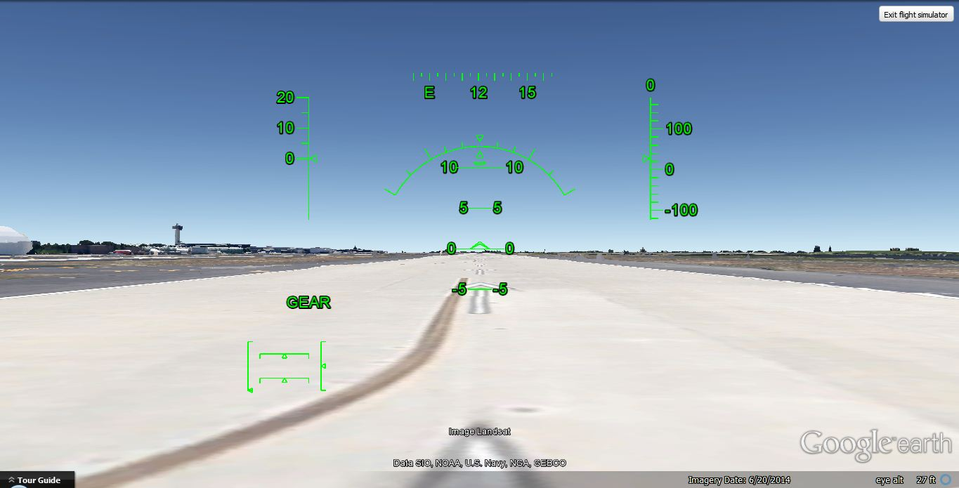 Cara Bermain Game Flight Simulator di Google Earth