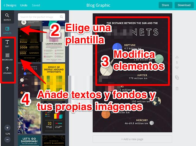 Apps para diseñar Infografías en tu tableta