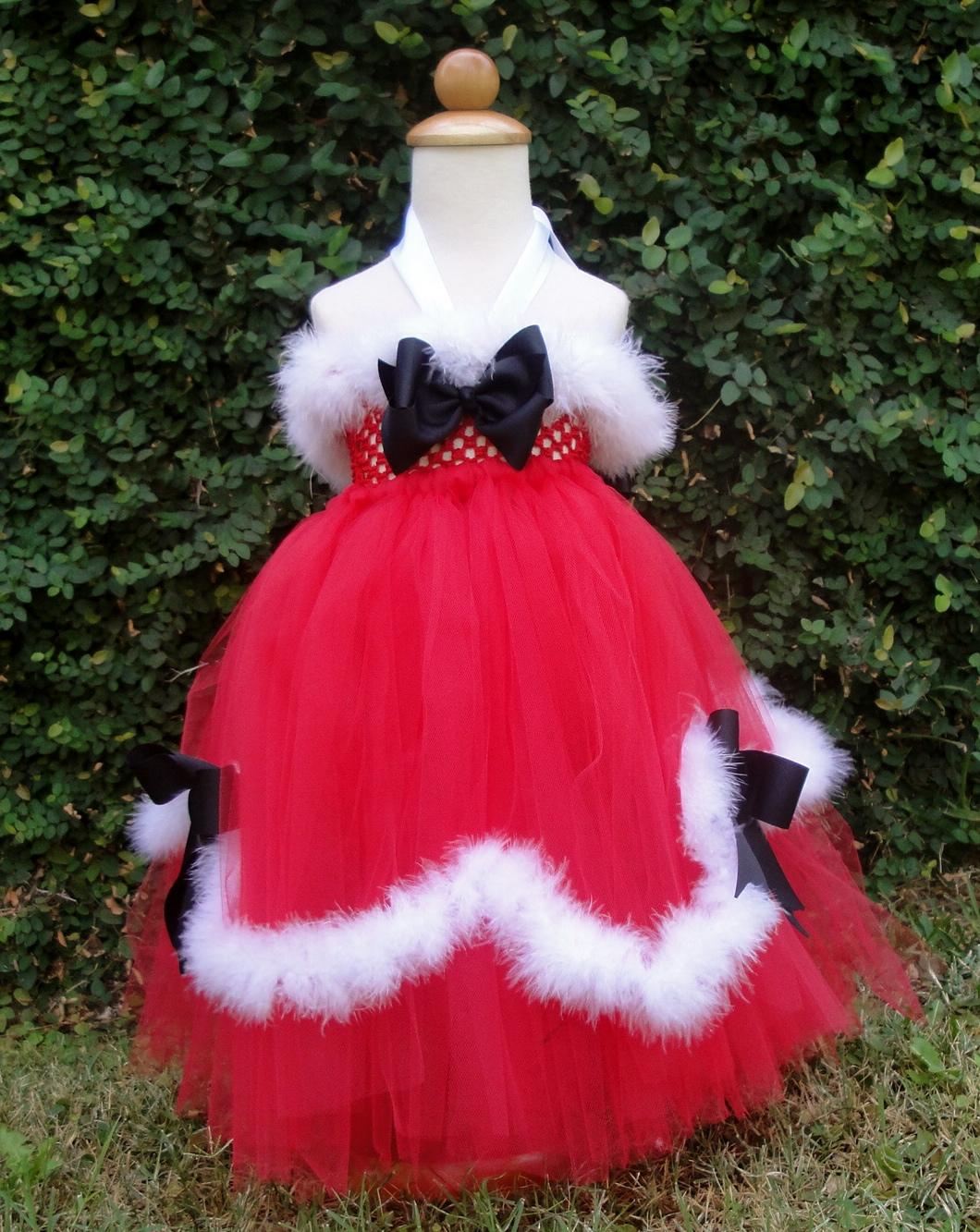 Santa Baby Tutu Dress Santa Baby Girl Tutu Dress