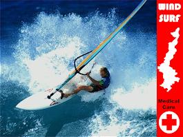 Medical care for Wind Surfer in Karpathos