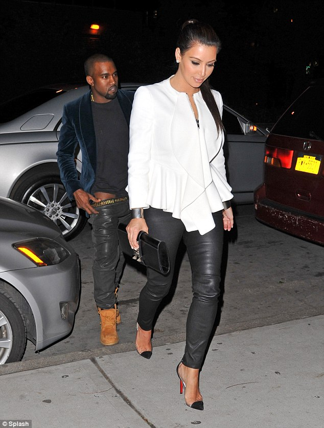 Celebrity Bag: Hermes Medor Clutch on Kim | The Bag Hag Diaries