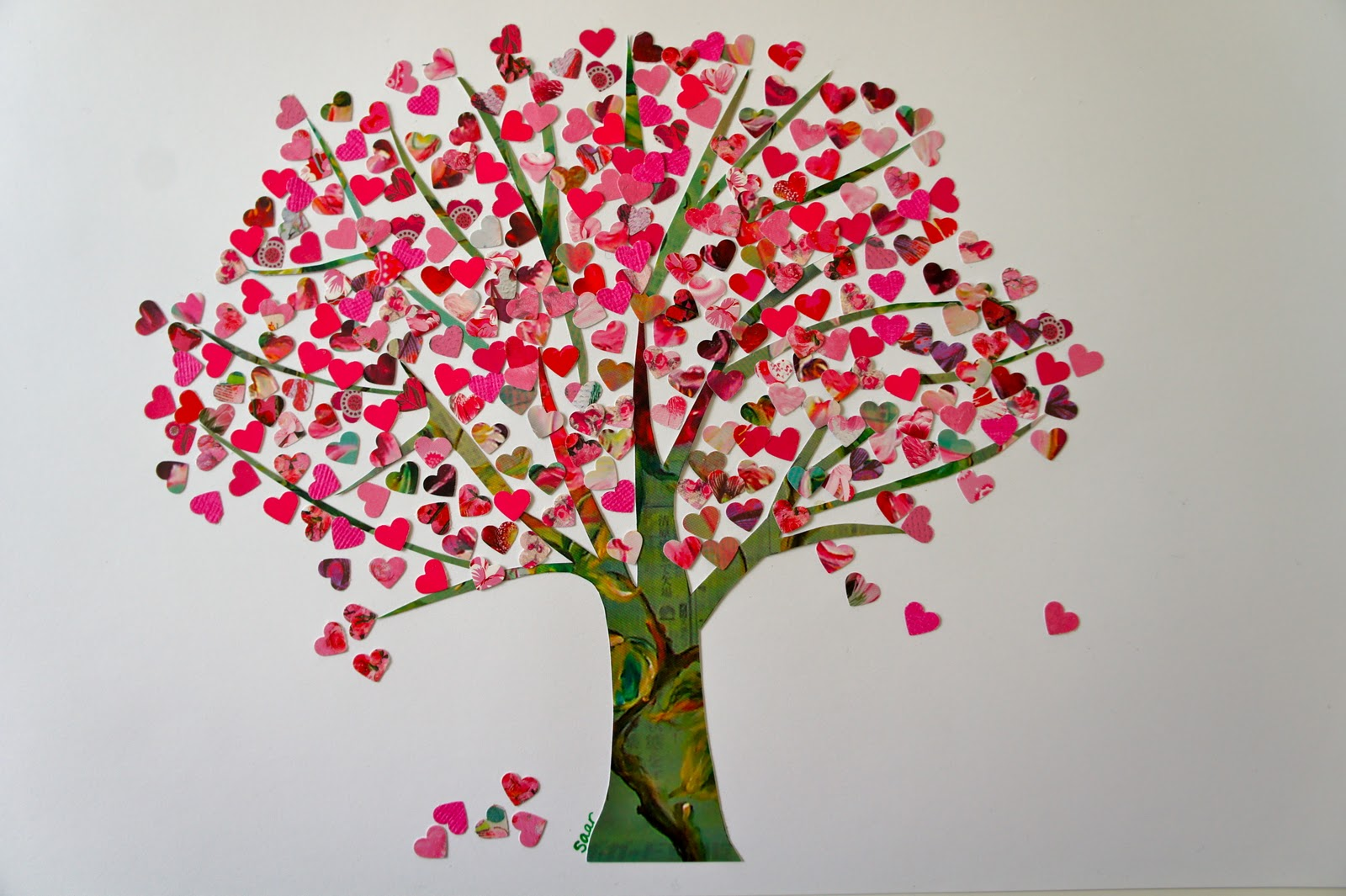 Ideas from the forest tree of hearts valentine edition - Decoracion san valentin manualidades ...