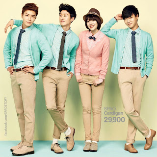 Super Junior fx SPAO S/S 2013 5