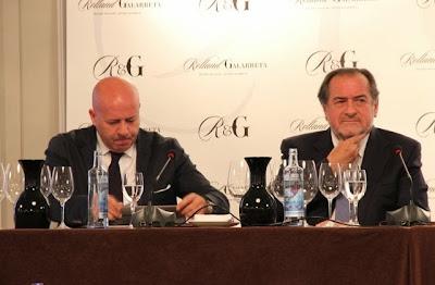 Javier Galarreta y Michel Rolland. Blog Esteban Capdevila