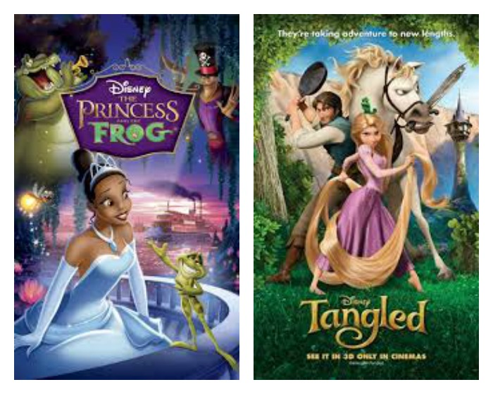 Top Disney films