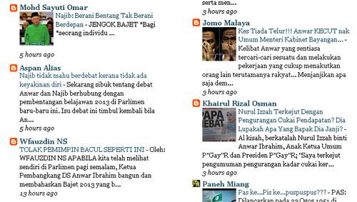 Ni siapa penakut ni? Najib ke Anwar?