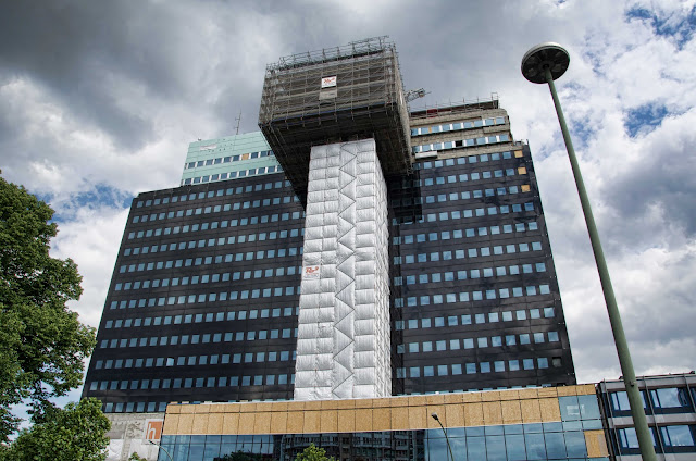 Baustelle Philips-Hochhaus, 73 Meter Höhe, Hotelkette Riu, Martin-Luther-Straße 1 - Kleiststraße, 10777 Berlin, 04.06.2014