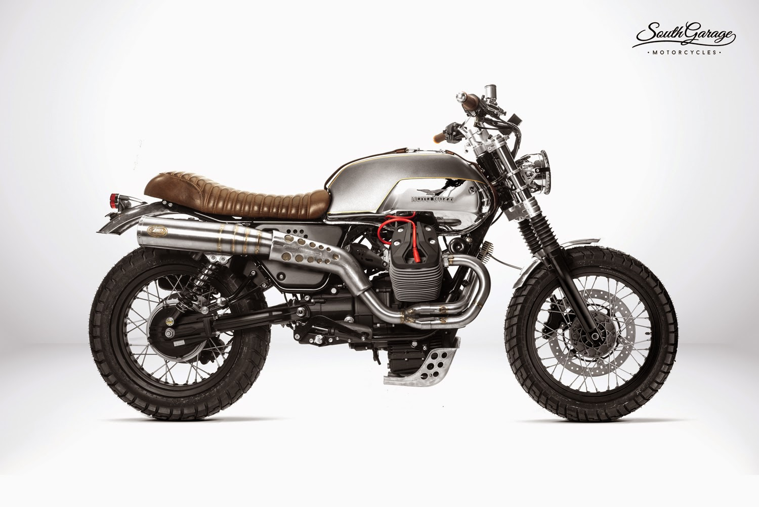 racing caf moto guzzi v7 ibis by south garage motorcycles