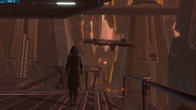 star wars the old republic, Knights of the Fallen Empire, Chapter III Outlander  vaylin gazing