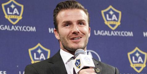 Beckham ingin jadi kapten Inggris Raya