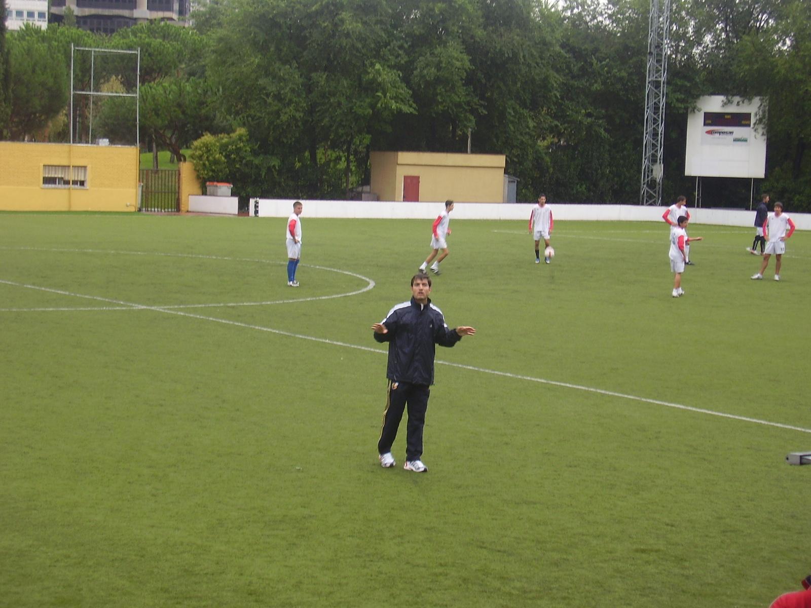 entrenador futbol entrenamiento tecnica tactica: