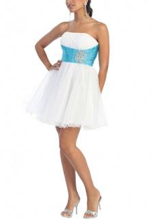 White Evening Dress on Dresses  Short Radiant White Cocktail Dress And Short Prom Dress
