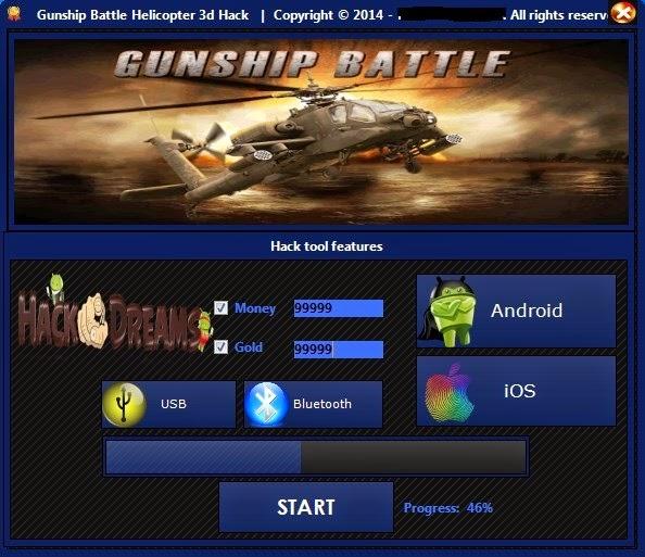 Gunship battle latest version unlimited gold