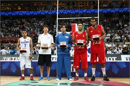 Fiba Asia 2013 Final Standing & Awards