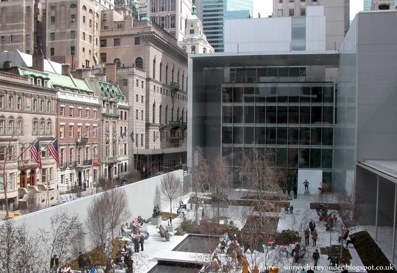 MoMA -  Interior and Sculpture Garden, New York