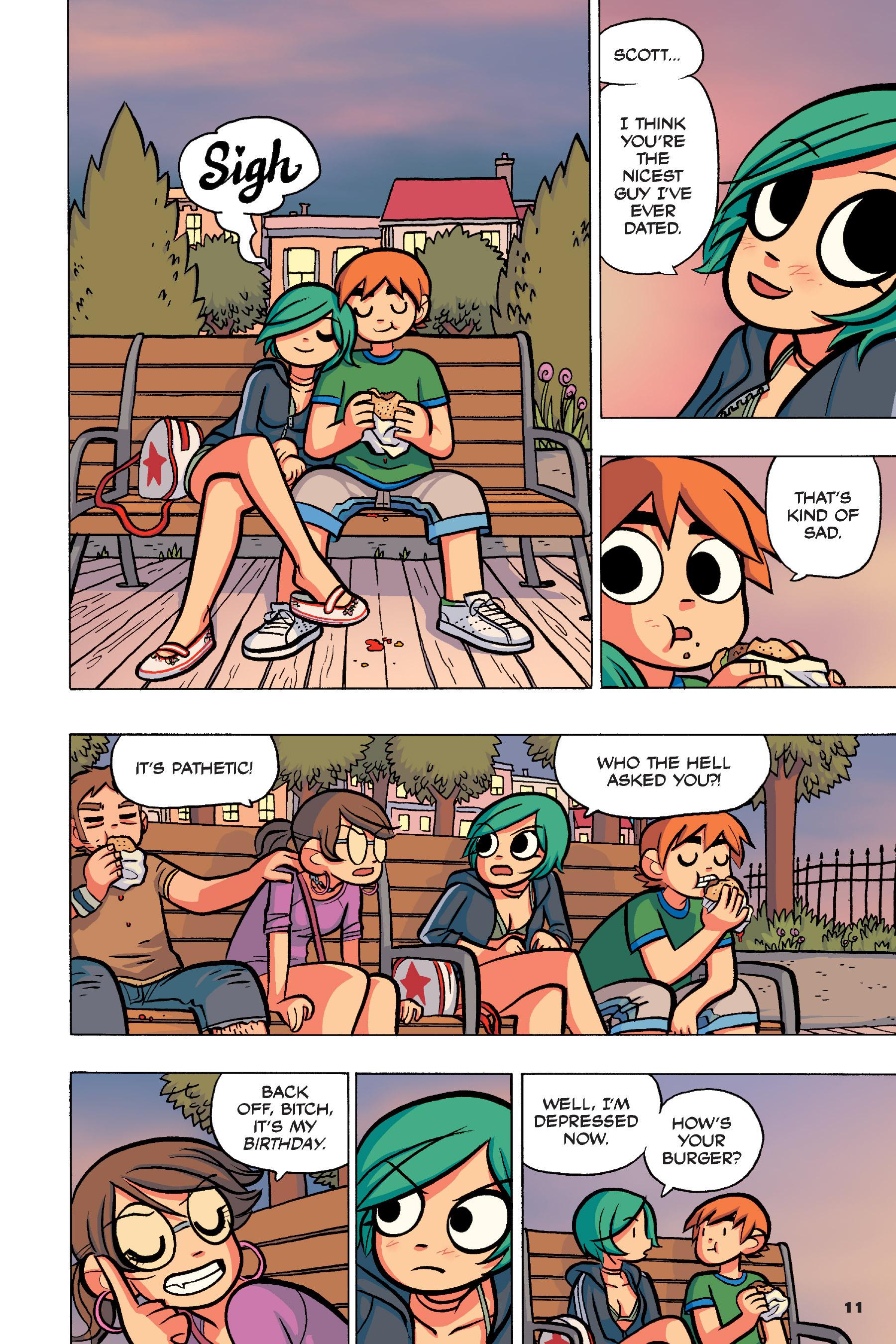 Read online Scott Pilgrim comic -  Issue #4 - 10