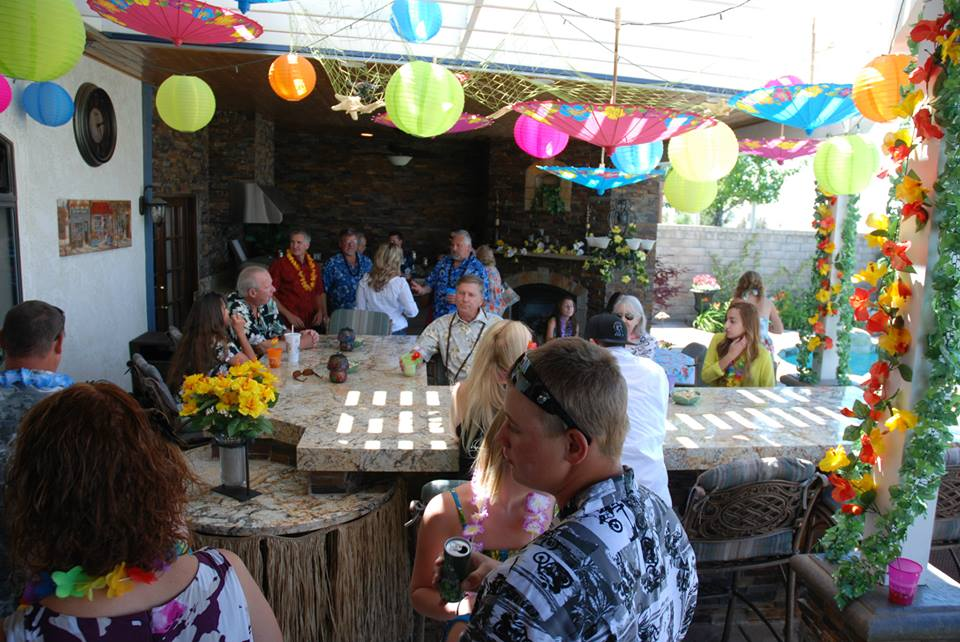 My Wombmate: Our Luau Baby Shower - May 18, 2013