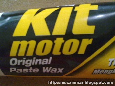 "Berburu Kit paste wax si ""pengkilap"" body motor"