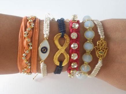 mix de pulseiras 2014