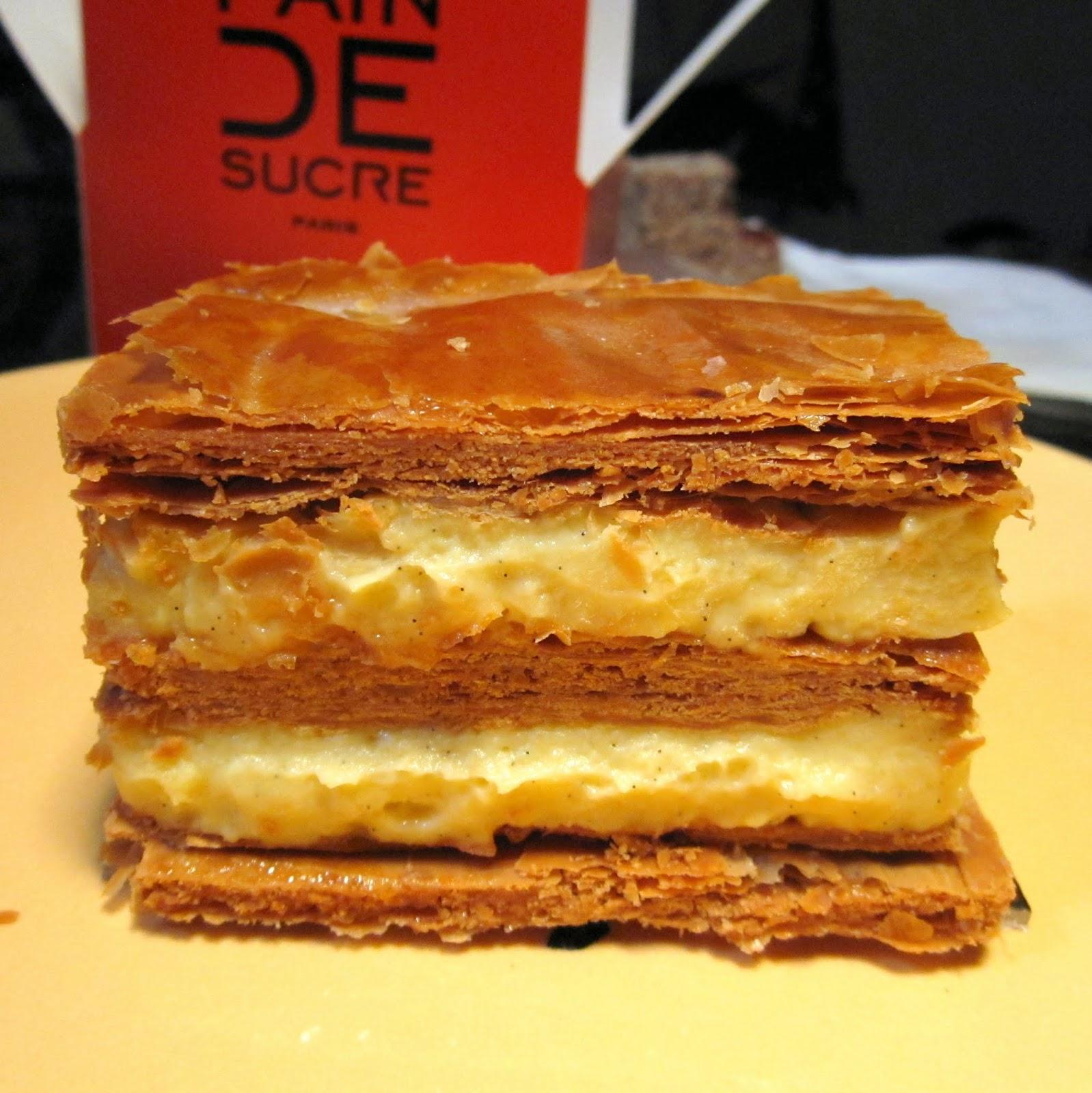 Mille fueille Pain de Sucre Paris France Napoleon dessert