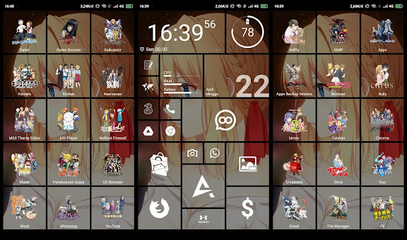 ANIME THEME WINDOWS STYLE WINTER 2018 FOR ANDROID PHONE