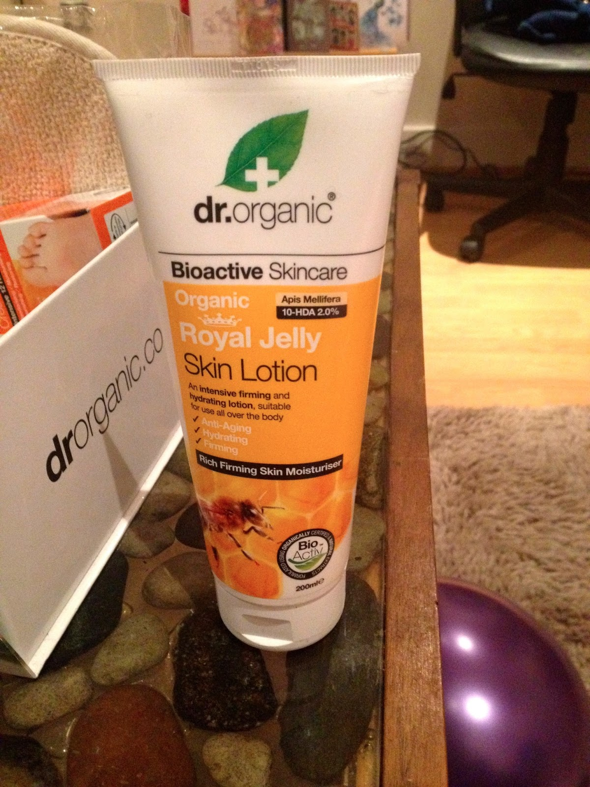 dr organic royal jelly skin lotion
