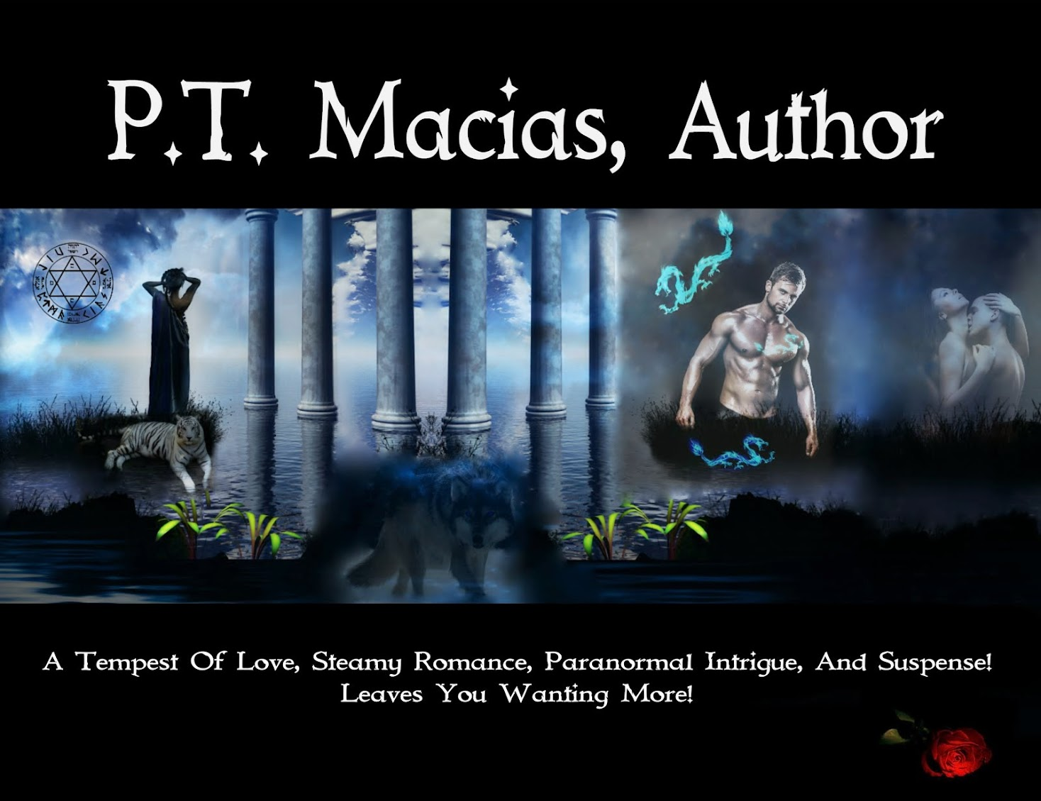 P.T. Macias, Author