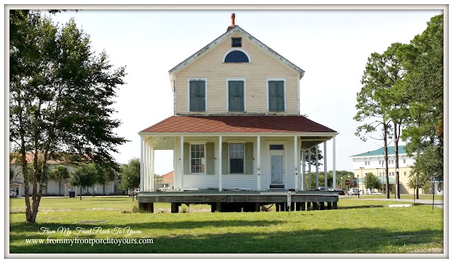 Famrhouse-Cape San Blas Lighthouse- Port St. Joe, Florida-From My Front Porch To Yours