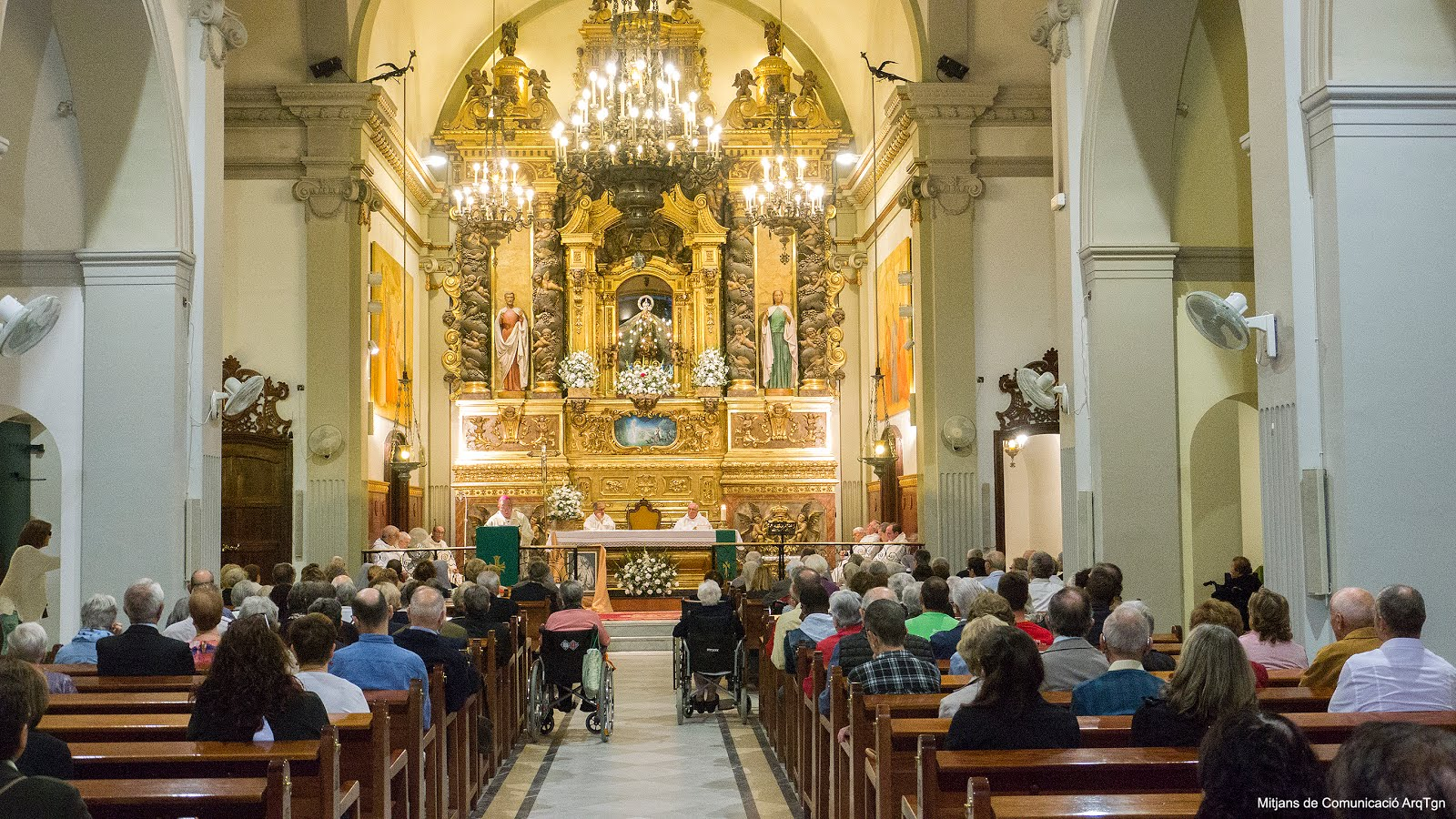 Celebració del 150 aniv. de les Germanetes dels Pobres a Reus (25-10-2018)