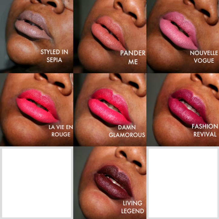 Souvent Alluring Anet: MAC The Matte Lip Collection BW62