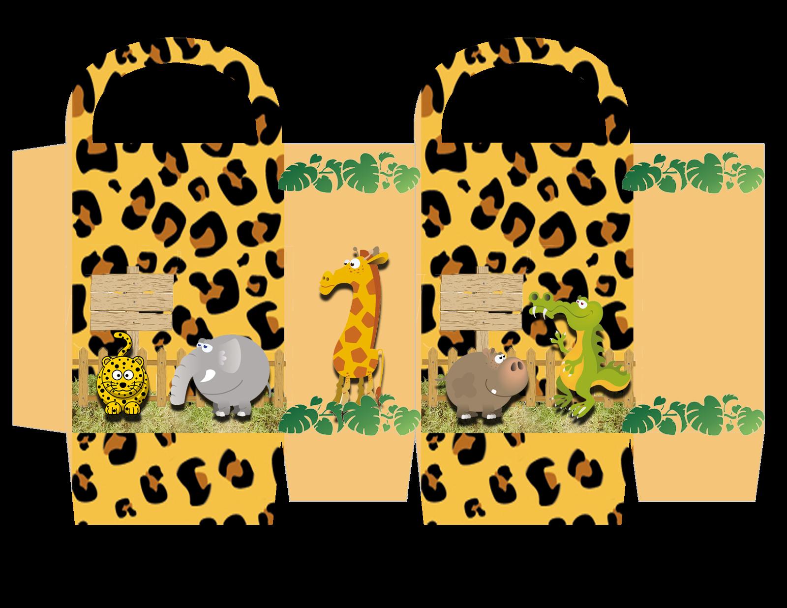 Kit Digital De Anivers  Rio Tema  Safari  Para Imprimir