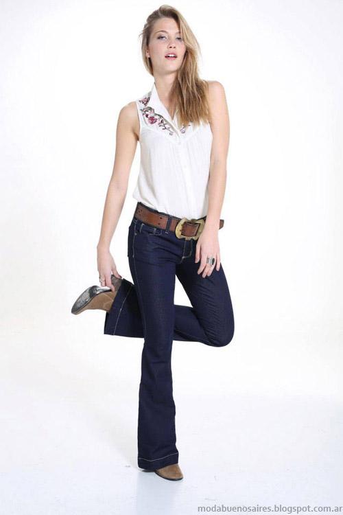 Riffle Jeans verano 2014 pantalones oxford.
