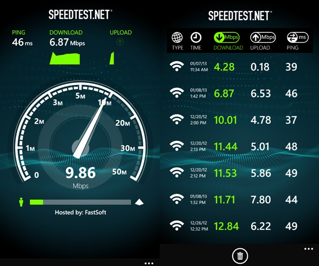 ���� ����� Internet Speed For Android 1.1 , ������ Internet Speed For Android 1.1