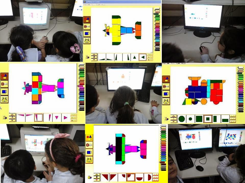 alumnos trabajando con las computadoras del laboratorio