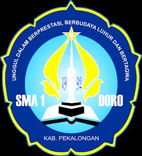 Sma 1 Doro Kab Pekalongan Logo Sma 1 Doro