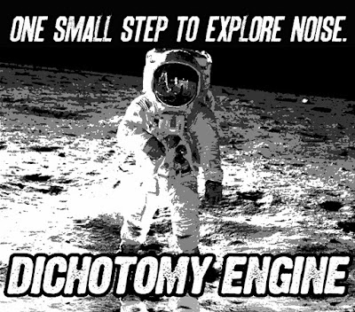 Noise one small step Dichotomy Engine stickers