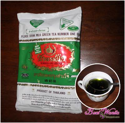 Serbuk Teh Hijau. Mana Nak Beli. Cara Buat Ice Blend Matcha Green Tea Sedap. Resepi Ais Blend Teh Hijau Latte Best.