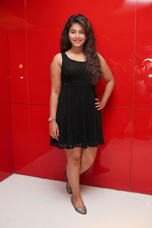 Actress Anjali Latest  Pictures in Short Dress at Kayal Movie Audio Launch  22.jpg