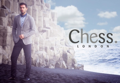 Duncan MacRae by Alexander Beer for Chess London AW13 Campaign