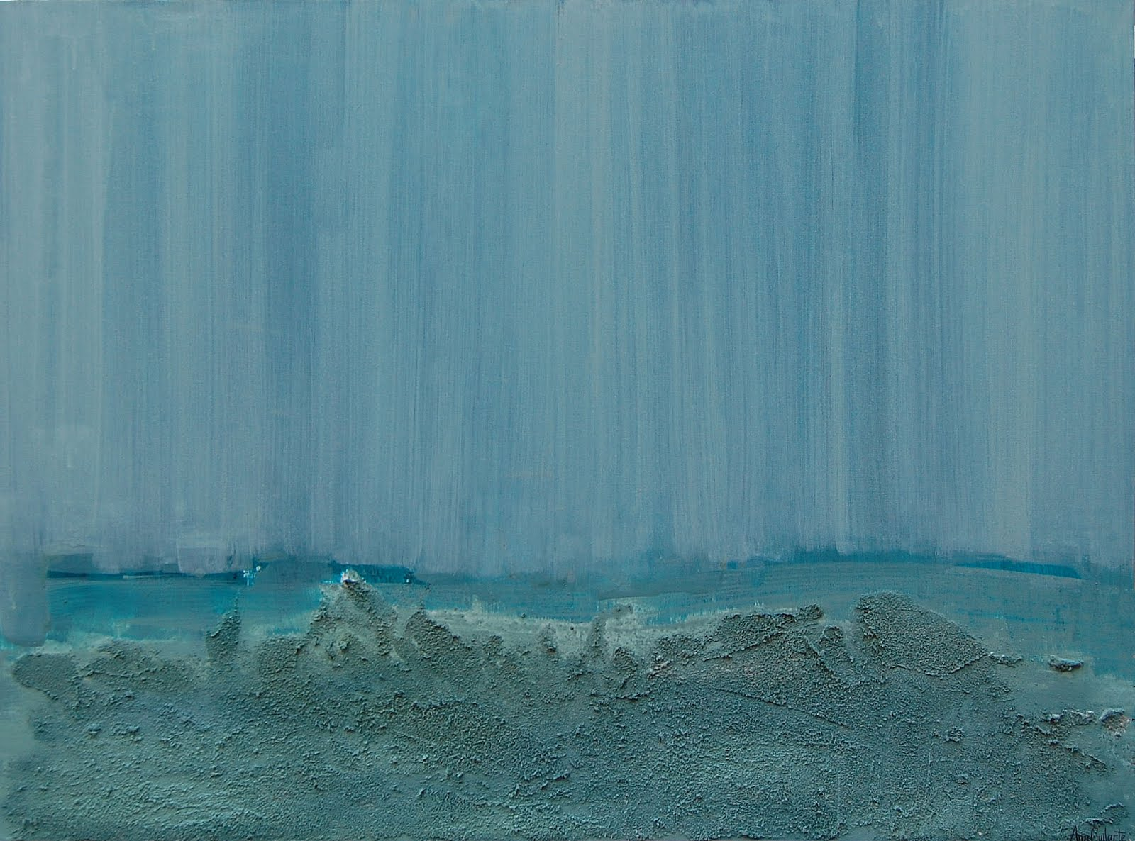 216. Untitled. 91x121cm. Sold/Vendido