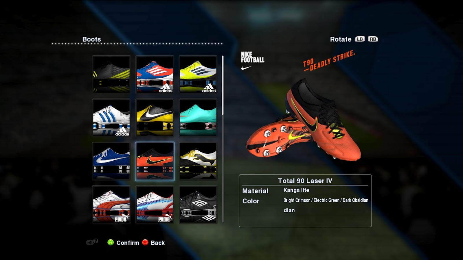 PESEdit.com 2013 Patch 1.1 – New Boots
